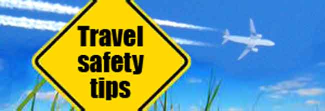 travel safety is all about planning first