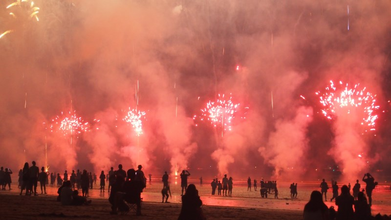 Mindil Beach fireworks