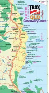 bramston beach map